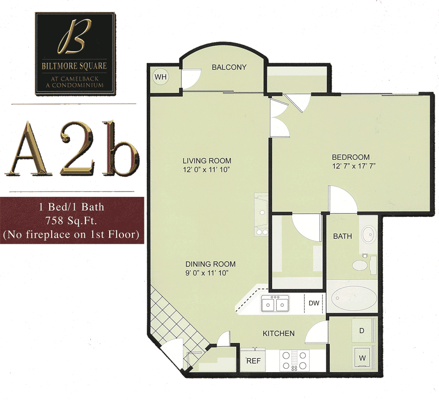 Colter Park Apartments: Biltmore Square Condo Floor Plans