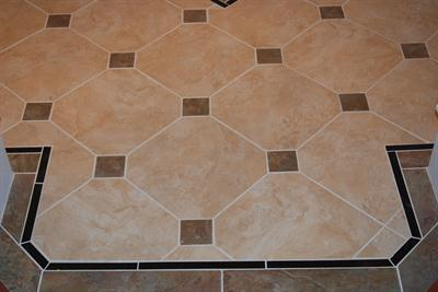 Flooring in Entry Way